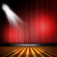 Red Curtain lights pictures download