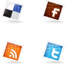 Set of Social Icons 3