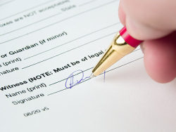 Signature moment picture material