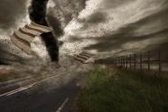 Tornado storm scene pictures