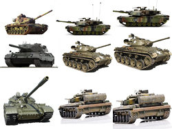 Various types of tank-military HD pictures