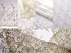 White gauze curtains lace HD Photo (5P)
