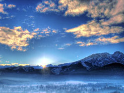 Winter landscape pictures HD-2