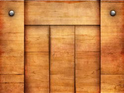 Wooden planks and nails 3 HD picture