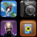 Zosha iPhone Icons