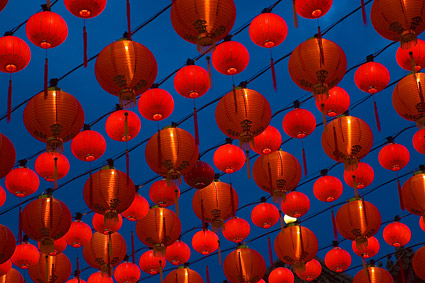 Traditional Chinese Lantern picture material-1