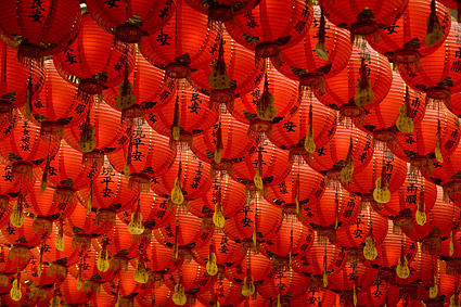 Traditional Chinese Lantern picture material-3