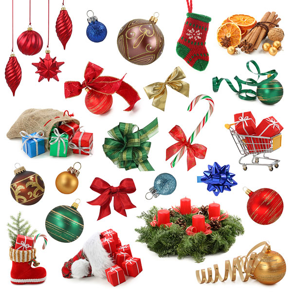 Various Christmas items HD pictures