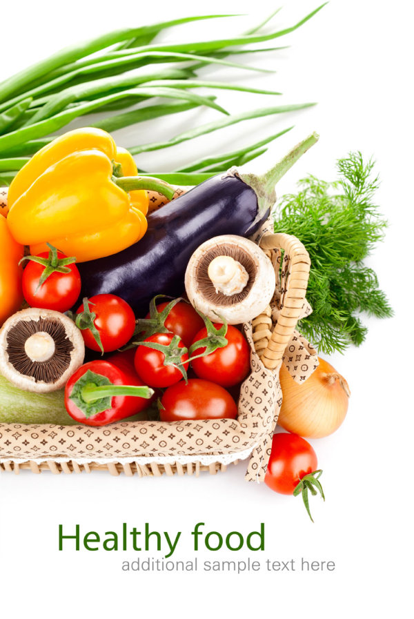 Vegetables poster background 01-HD pictures