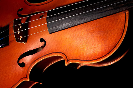 Violins feature picture material