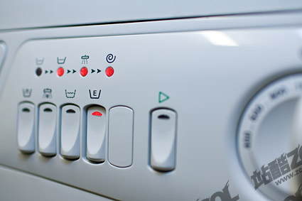 Washing machine buttons picture material
