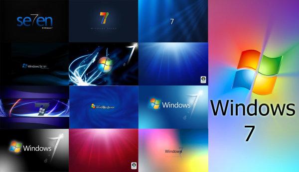 Window7 desktop background