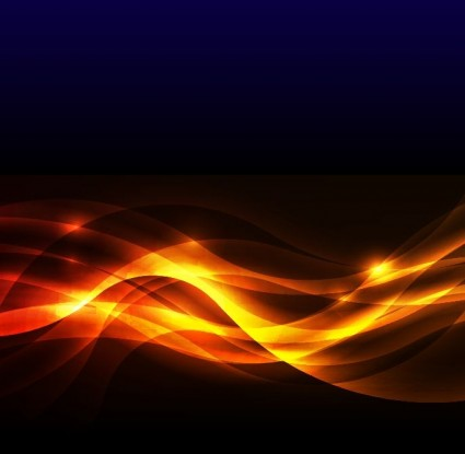 Abstract Golden Glow Background Vector Illustration For Free