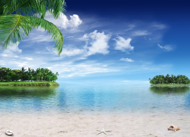 Beach beautiful landscape pictures