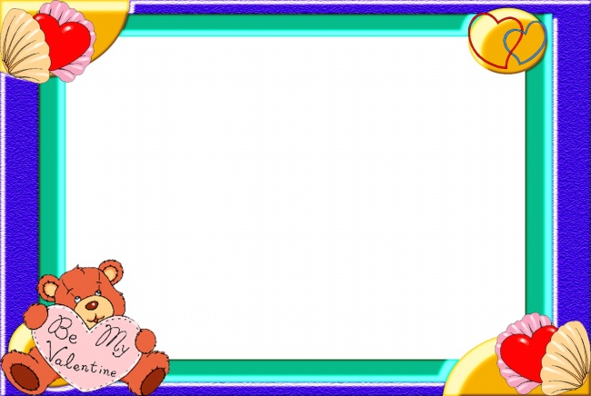 Bear photo frame template pictures
