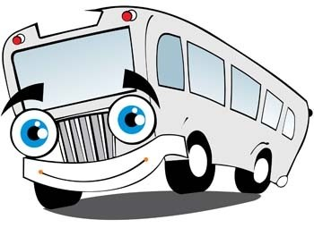 10 Gambar Kartun Mobil Bus Gambar Kartun Ku