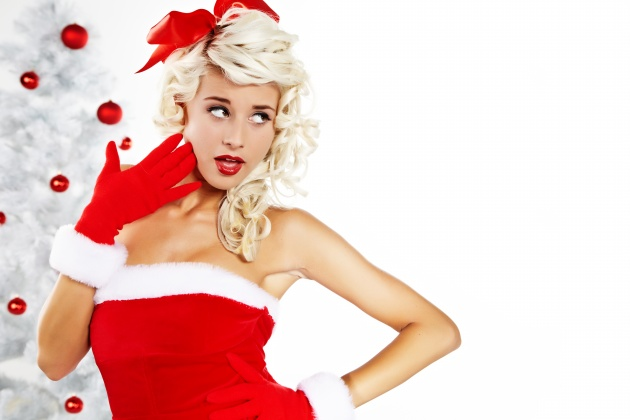 Christmas girls pictures HD download