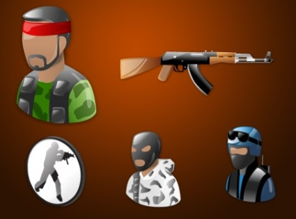 Counter Strike Vista Icons icons pack
