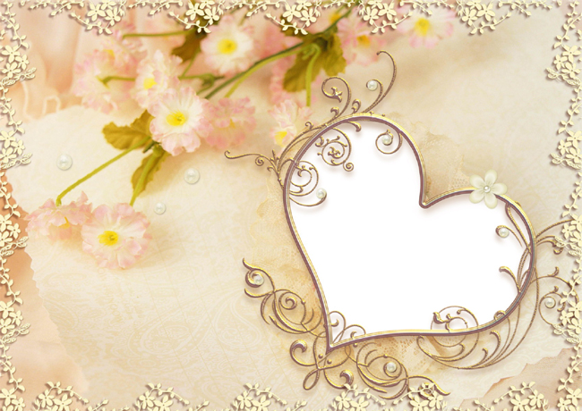 Cute picture frame material download