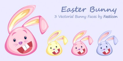 Easter Bunny Icons icons pack