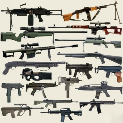 firearms psd layers picture