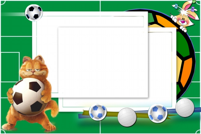 Garfield photo frame picture material
