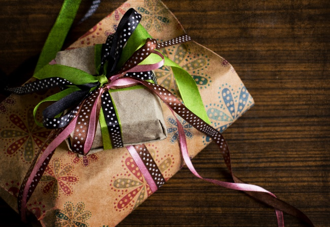 Gift box picture material download