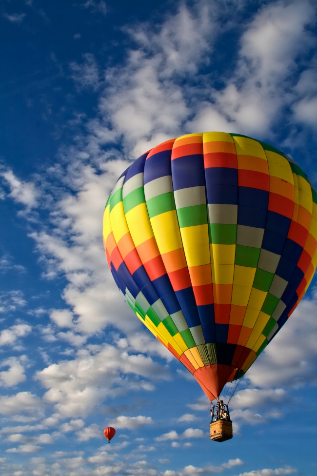 Hot air balloons in the Sky HD pictures