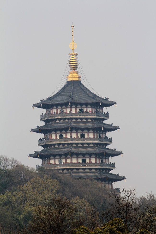 Landscape of Hangzhou leifeng Tower pictures