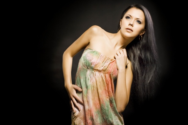 Long black hair beautiful HD pictures
