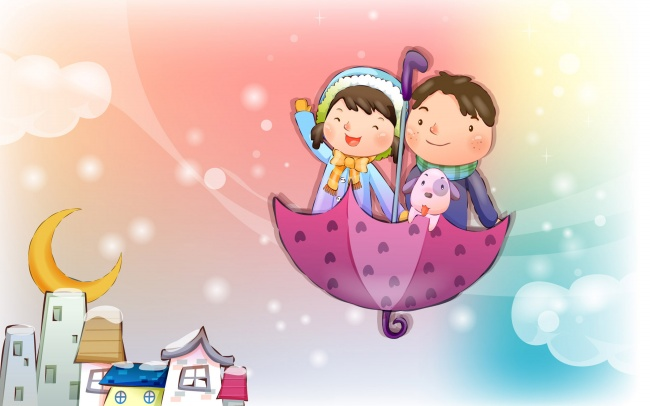 Lovely cartoon couple pictures