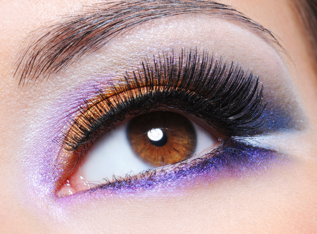 Purple eye shadow girls pictures download