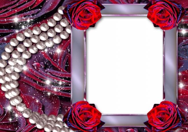 rose pearl frame material download