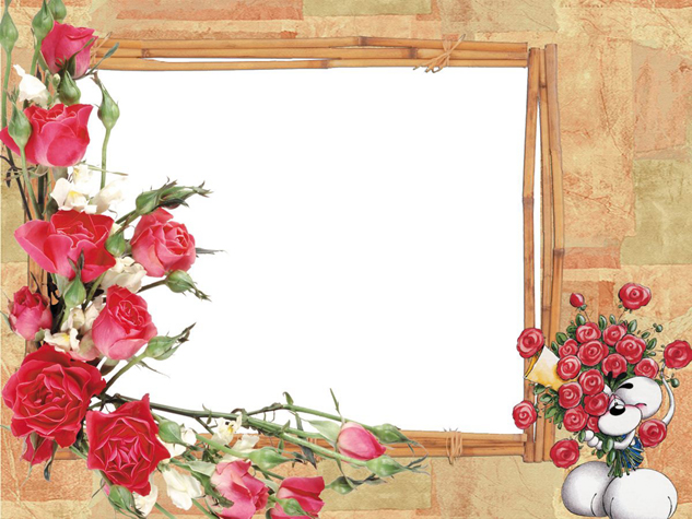 Rose picture frame material download