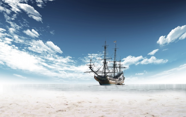 Sailing the sea HD pictures