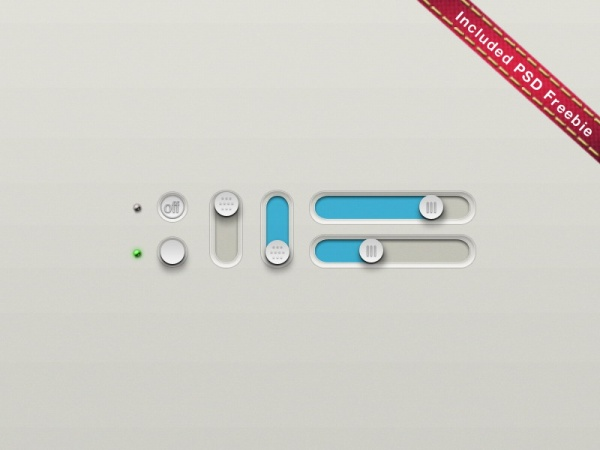Slide The Button Psd Control Material Free Download