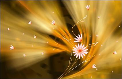 Super ultra-clear theme flower-5