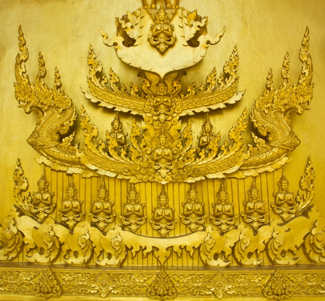 The magnificent Buddha images