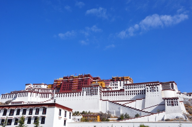 The Potala Palace landscape pictures