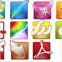 Adobe CS4 Icons icons pack
