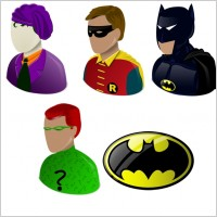 Batman vista Icons icons pack