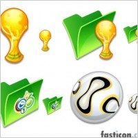 Comic World Cup Icons icons pack