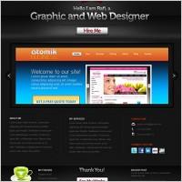 Creative Portfolio Website PSD Template