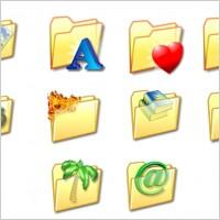 Folder Icon Set icons pack