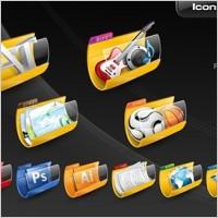 free folder icon set icons pack