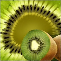 Fruit – kiwifruit psd layered material
