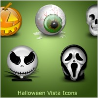 Halloween Vista Icons icons pack