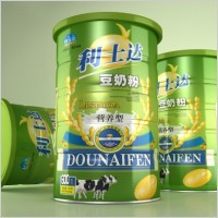 milk powder packaging blank jar with 3d layers