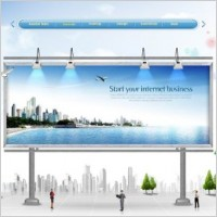 the urban outdoor display ad template stratified