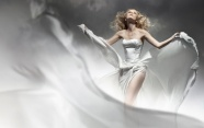 Beauty set off white dress pictures